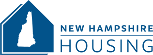 New Hampshire Housing blue logo
